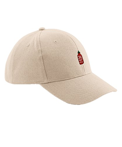 Ulterior Clothing Hot Sauce Embroidered Baseball Hat (Dads Hot Sauce)