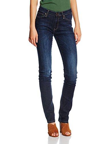 Cross Jeans Damen Hose Anja, Blau (Dark Blue Used 077), W29/L36 (Herstellergröße: 29)