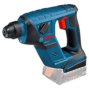 41%2BIfORTvlL. SS300  - Bosch Professional GBH 18 V-LI Compact Martillo perforador, sin batería, 1 J, diámetro máximo hormigón 12 mm, portabrocas SDS plus, en caja, 650 W, Negro, Azul, Rojo