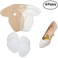 Zapatillas, Tacones de Tacón alto, Forros de Espalda, Zapatillas, Reutilizables, Silicona Transparente
