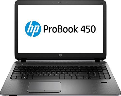 HP ProBook 450 G2 L3Q27EA 39,6 cm (15,6 Zoll) Laptop (Intel Core i5-5200U, 2,2GHz, 4GB SDRAM, 128GB SSHD, Intel HD-Grafikkarte 5500, DVD-Brenner, Windows 8.1 Pro) schwarz