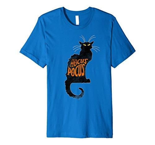 Halloween Katze schwarz Kostüm für Erwachsene Hocus Pocus Kinder Shirt Tee