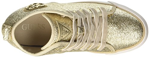 Guess Damen Jilly Hohe Sneakers Gold (Oro)