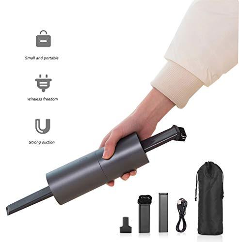 BF-DCGUN Auto-Staubsauger Handstaubsauger kabelloses Gebläse wiederaufladbare Starke Zylinder tragbare Mini Vac 2KPA nass/trocken Leichtgewicht für Tastatur-Haustier