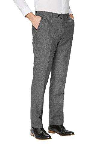 next Homme Tailored Fit Pantalon De Costume À Motif Œil-De-Perdrix Texturé Gris