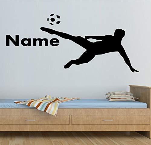nkfrjz Boys Room Decal Spielen Fußball Home Vinyl Murals wandaufkleber kinderzimmer -