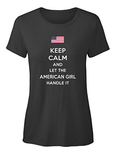 Camiseta Teespring con Impresión para Mujeres - S - The American Girl
