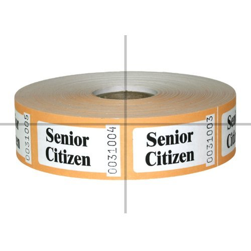 Price comparison product image Roll Tickets, Senior Citizen