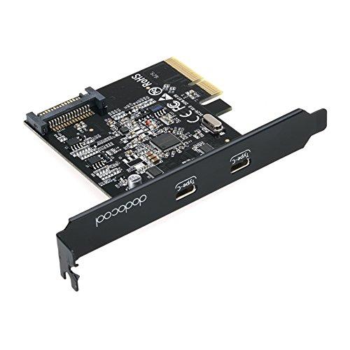 dodocool USB 3.1 PCI Express-Card con Doppia