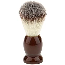Magideal Professional Mens Barber Shave Shaving Nylon Brush Facial Cleaning Tool