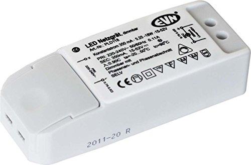 Preisvergleich Produktbild EVN PLD118 A++ to A, Netzteil, Metall, 10 W, Integriert, grau, 35 x 35 x 25 cm