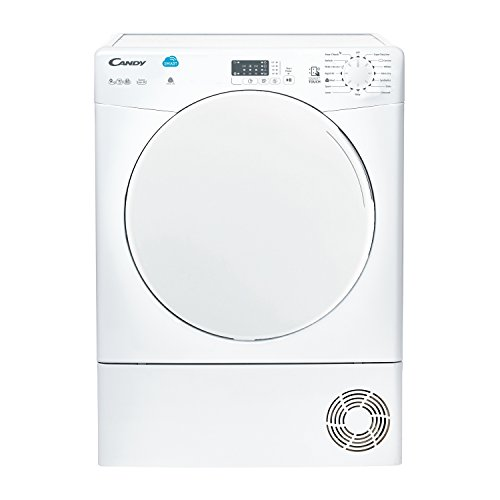 Candy CSC9LF B Rated 9kg 2 Temps Condenser Tumble Dryer with Timer in White New