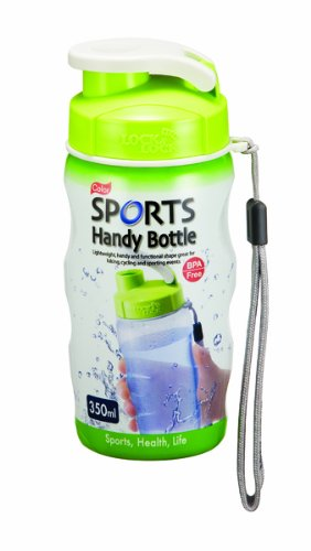 350ml-colour-gym-sports-handy-bottle-with-carry-strap-green