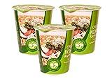#8: Paldo Original Korean Ramyun Instant Noodle Cup (Vegetarian Flavour) 65g - Set of 3