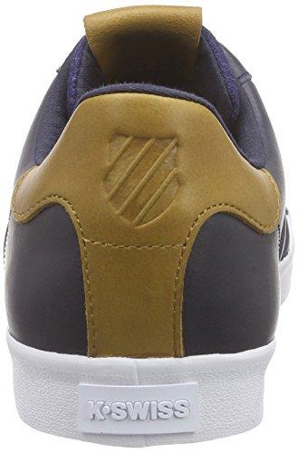 K-Swiss Belmont P Herren Low-Top Blau (Navy/Golden Brown/White 487)