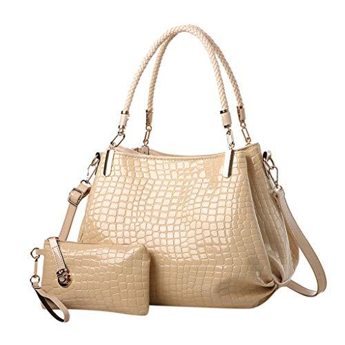 DOLDOA Handtaschen Messenger Bag Damen Schulter Messenger Bag Mode Quadratische Tasche ()