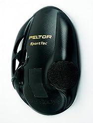 3m Peltor 210100sv Peltor Sporttac Ersatzschale, Schwarz