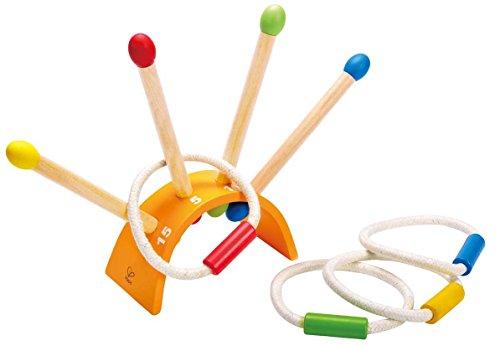 Preisvergleich Produktbild Hape E4301 - Ringe Werfen, Holzspielzeug