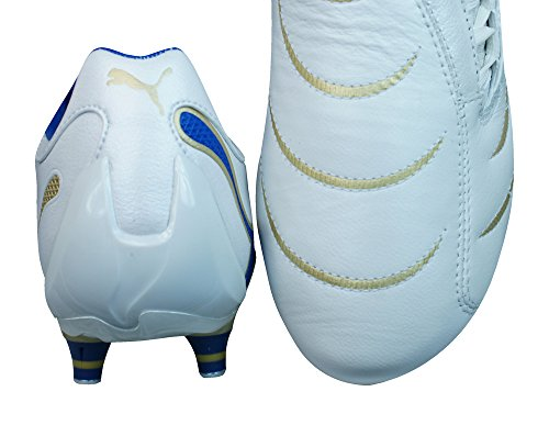 Puma PowerCat 2.10 SG Homme cuir Chaussures de football white
