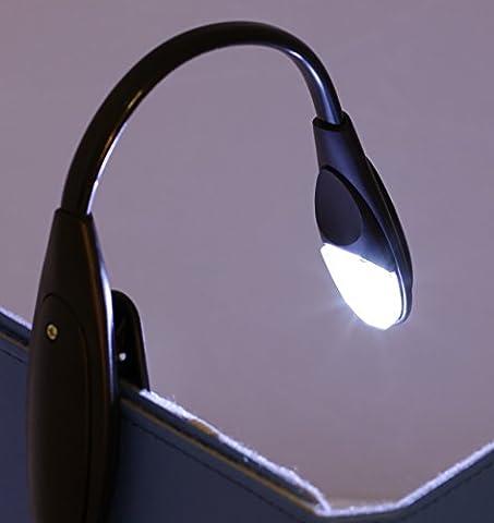 Navitech lampe de lecture pour liseuses éléctroniques ou livres traditionels