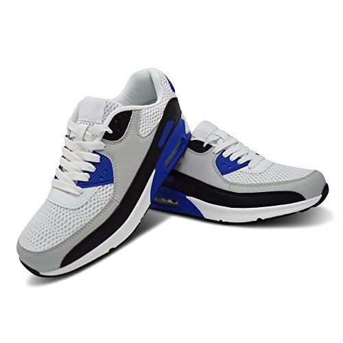 Xelay ,  Herren Sneaker Low-Tops Blau / Grau