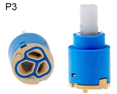 - Ersatz-keramik-kartusche (25MM Keramik Kartusche / Armatur Wasserhahn Ersatz Keramik Steuer Kartusche / Patrone 25 mm)