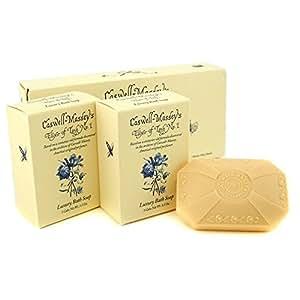 CASWELL MASSEY Elixir of Love No. 1 Luxury Bath Soap - 3x100g/3.5oz