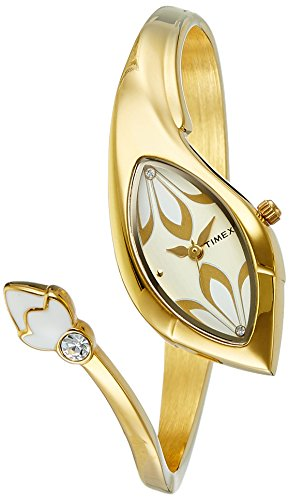 Timex New Women Analog Gold Dial Women's Watch - TI000N20100
