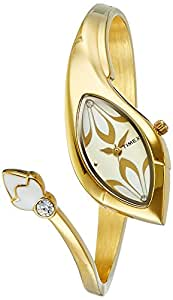 Timex Bangle Analog Gold Dial Women's Watch - TI000N20100