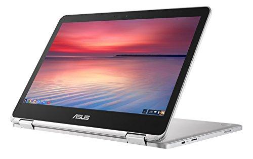 ASUS-C302CA-GU010-Full-HD-Flip-Chromebook-125-Inch-Notebook-Silver-Intel-Core-m3-6Y30-Processor-4-GB-RAM-64-GB-eMMC-Chrome-OS