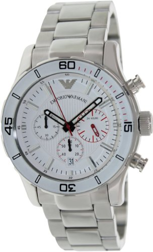 Emporio Armani Reloj Análogo clásico para Hombre de Cuarzo con Correa en Ninguno AR5932