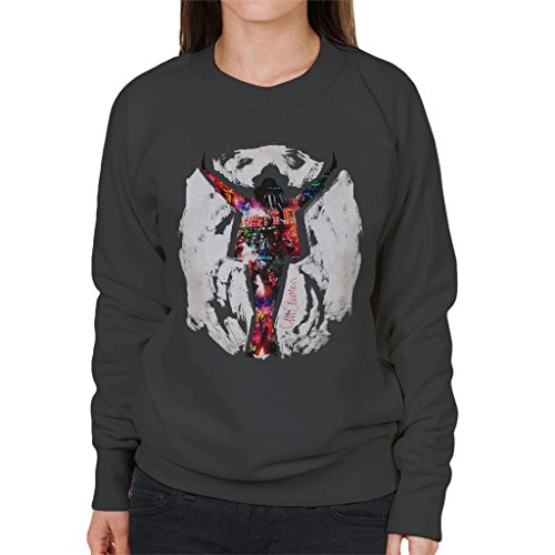 Sidney Maurer Michael Jackson This Is It Official Women's Sweatshirt Anthracite