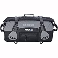 Oxford Aqua T-30 Roll Bag - Black/Grey, 30 Litre