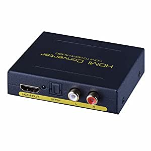 ViewHD HDMI to HDMI + Audio Extractor & Converter (Model: VHD-H2HSAs)