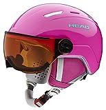 Head Mädchen Maja Ski/Snowboard Helm,Rose,XXS