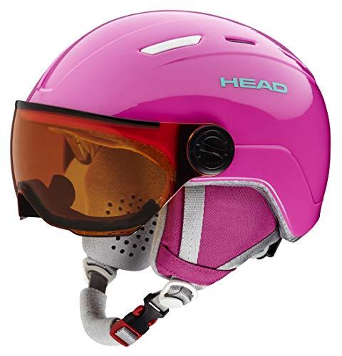 Head Mädchen Maja Ski/Snowboard Helm,Rose,XXS (Ski Helm-liner Mädchen)