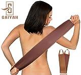 GAIYAH - Guanto per abbronzatura posteriore, applicatore autoabbronzante, funziona con guanto finto abbronzante