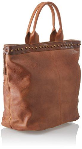 XTI Damen 85955 Shopper, 45x34x17 centimeters Braun (Camel)