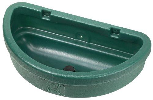 JFC EQ10 Futtertrog für Pferde - Türmodell - 16 Liter - dunkelgrün
