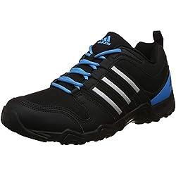 Adidas Men's Agora 1.0 Black/Metsil/Solblu Multisport Training Shoes - 9 UK/India (43.33 EU)(S48720)