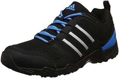 Adidas Men's Agora 1.0 Black/Metsil/Solblu Multisport Training Shoes - 7 UK/India (40.67 EU)(S48720)