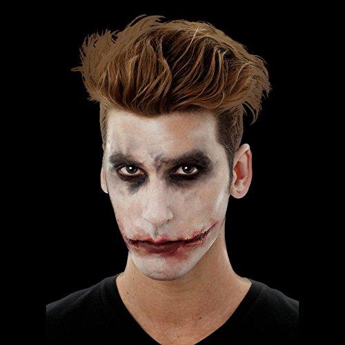 Ferite sorriso cicatrici joker