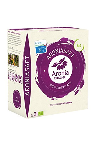 100 Prozent BIO Aronia Muttersaft