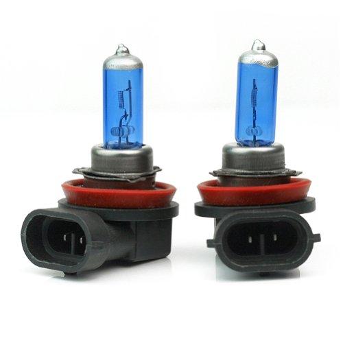 Pinzhi 2ST H11 Xenon-Scheinwerfer 55W LED Auto Auto Fahrzeug Tag Nebelscheinwerfer Xenon-Glühlampe Warm White