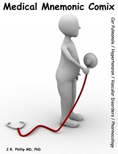 Medical Mnemonic Comix - Cor Pulmonale / Hypertension / Vascular Disorders / Pharmacology (English Edition)