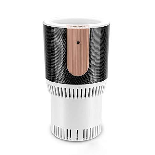 Hunpta@ Auto Cup Cooler,Warmer 12V Auto Elektroauto Kühlschrank Getränkehalter,Travel Mug Thermo Isolier mobiler Kaffeebecher, EIS-Kaffee, Eistee,Car Refrigerator Tragbare Desktop-Cooler Cup (Weiß)