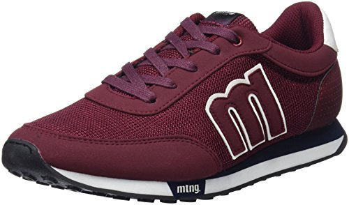 MTNG Jogger, Zapatillas Para Hombre, Multicolor (Mesh HT 4486 Burdeos Burdeosaction PU Blanco), 41 EU