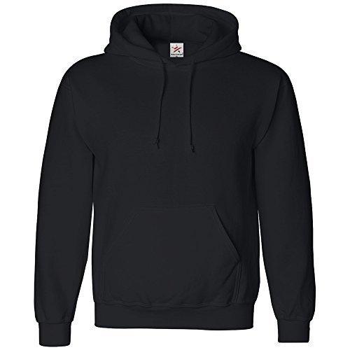 Star and Stripes - Sweatshirt Hoodie à capuche - Unisexe - Noir - Small