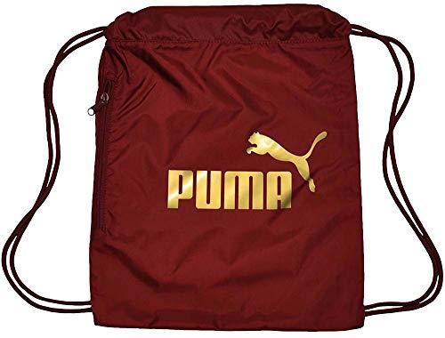 Puma Classic Cat Gym Sack - Pomegranate-Gold, Größe:-