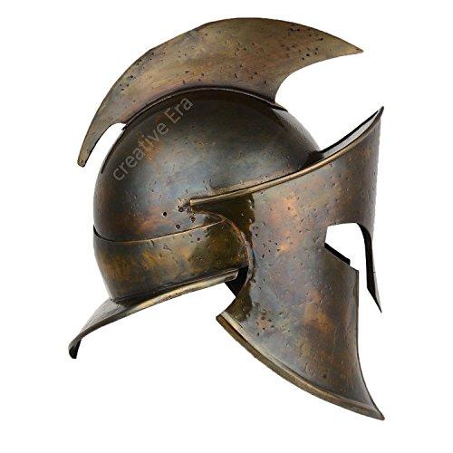 ANTIQUENAUTICAS Ancient 300 König Leonidas Spartaner Helm Krieger Kostüm Mittelalter Helm Liner Helm